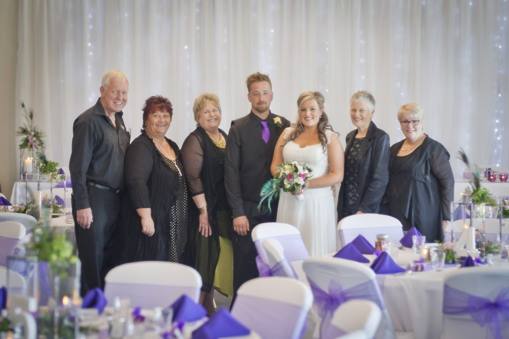 Lucky couple WIN-omarino wedding Christchurch venue