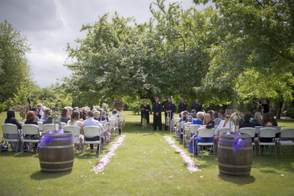 Wedding venue Christchurch-Vineyard Christchurch ceremony